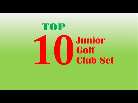 Top 10 junior golf club set