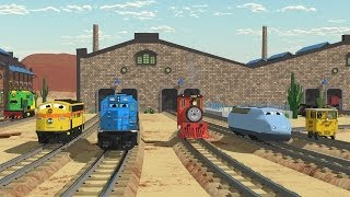 The Number Adventure at the Train Factory with Shawn and Team! - Full Cartoon