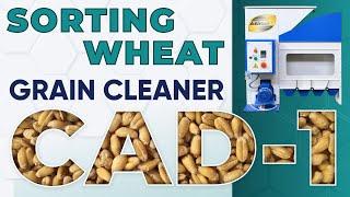 Зерновой сепаратор САД-1 от компании НПП Аэромех - производитель сепараторов САД для очистки зерновых - видео