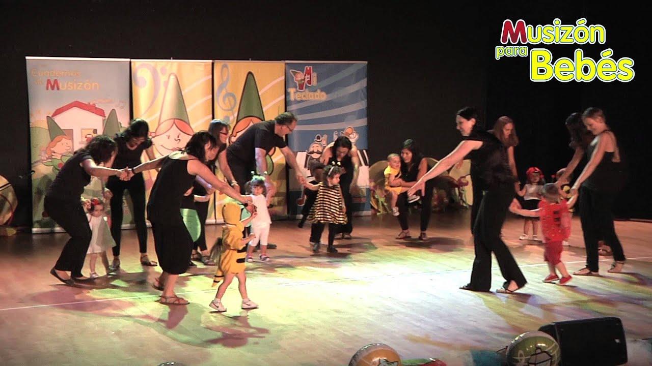 El Bicherío - Los bebes de 1 año en el Festival Musizón