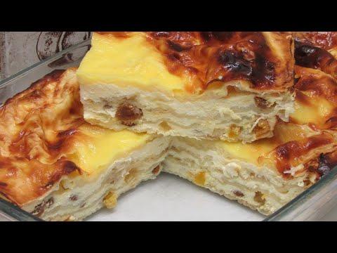 Кто готовил ПИРОГ из Лаваша? Просто Лаваш и Творог, а как ВКУСНО! Рецепт пирога на скорую руку