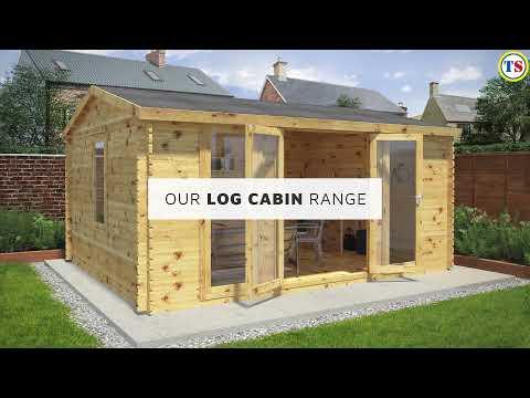 Mercia Grizedale Log Cabin - 19mm