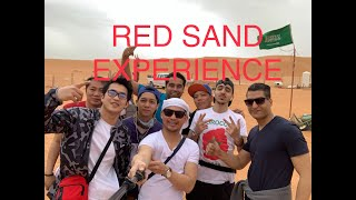 preview picture of video 'RED SAND in RIYADH #VLOG01'
