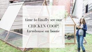 Come See Our A Frame Chicken Tractor | CHICKEN COOP TOUR YOUTUBE