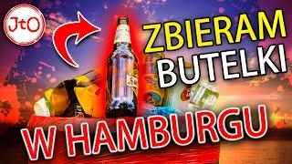 Zbieram butelki w Hamburgu