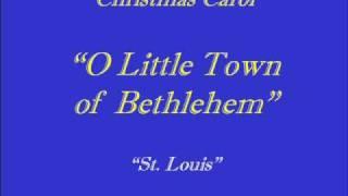 O Little Town of Bethlehem - Choir