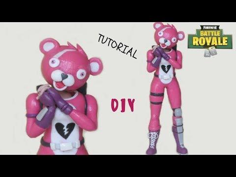 Cuddle team leader pink teddy bear fortnite clay tutorial cold porcelain altavistaventures Choice Image