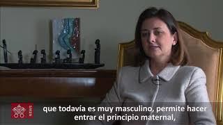 Gabriella Gambino, subsecretaria del Dicasterio para los Laicos, la Familia y la Vida