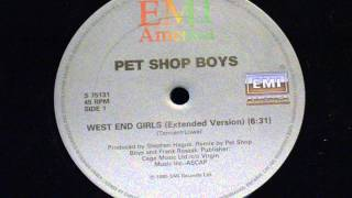 Gambar cover West end girls (extended version) - Pet shop boys
