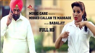 Missed Callan Te Massage  Babaljit