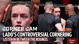 """""""What are you doing?!"""" Listen in to Aspen Ladd's controversial cornering 