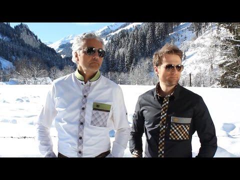 Alpin Lifestyle Outfit für Oktoberfest - Modernes Trachtenhemd als Wiesn Highlight von Gwild