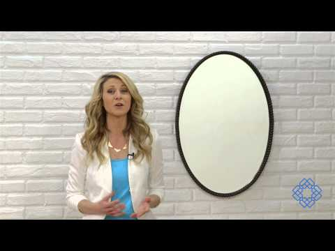 Video for Sherise Oval Mirror