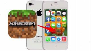 Как скачать Майнкрафт ТОЛКО на iPhone 4 - 4s  iOS 7.1.2 - 9.3.5 бесплатно?! (Способ 2019 г.)