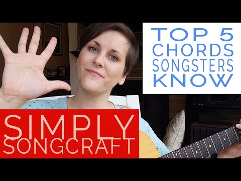 Top 5 Chords Songsters should know! Check out my Youtube Channel for more weekly tips and tutorials, every Wednesday!