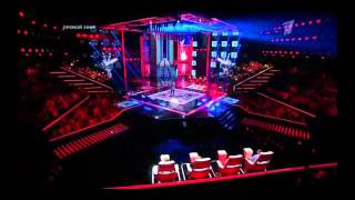 "The Voice Russia 2015 Николай Заболотских ""Baila Morena"" Голос - Сезон 4"