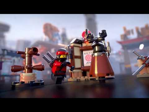 Vidéo LEGO Ninjago 70606 : L'entraînement au Spinjitzu