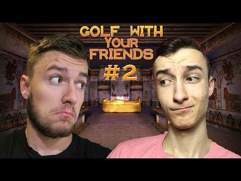 GOLF S TUTANCHAMÓNOM   Golf With Your Friends ft. Rino   #2   SK Gameplay   George