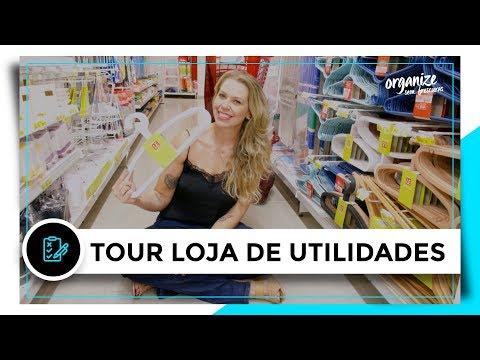 TOUR EM LOJA DE UTILIDADES PRA CASA