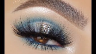 MAJESTIC BLUE MAKEUP LOOK - SOFIE BELLA