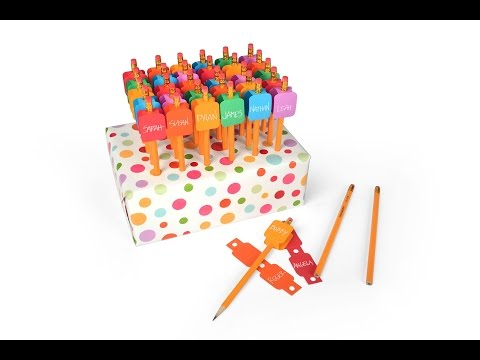 Ellison Education Series: Classroom Pencil I.D. & Storage