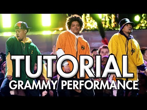 Bruno Mars and Cardi B - Finesse (LIVE From The 60th GRAMMY'S) DANCE TUTORIAL   MihranTV