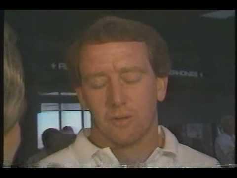 Archie Manning Retires  - Aug 1985 (w/Peyton Manning)