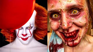 Creepiest Halloween Makeup Tutorials | Special Effects Makeup Transformations