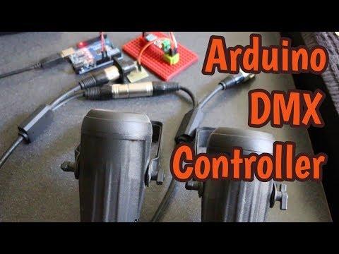 Arduino DMX512 Controller - Gadget Reboot - thtip com