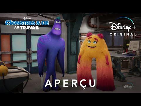 Pub Disney Monstres & cie : Au travail – Aperçu pub 2021  Mai 2021