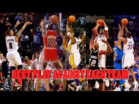 Best Play Ever Against Each NBA Team