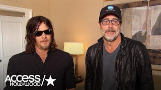 Jeffrey Dean Morgan & Norman Reedus Talk Fan Reaction To 'The Walking Dead' S7 Premiere Shockers