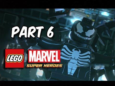 Lego Marvel Superheroes Mission 3 Spiderman+Hawkeye+Black