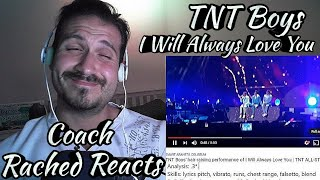 Vocal Coach Reaction + Analysis - TNT Boys - I Will Always Love You