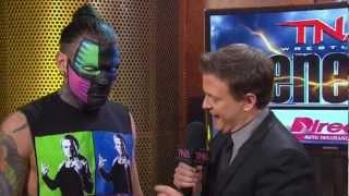 TNA Genesis 2012 - Jeff Hardy Segment - [HD]