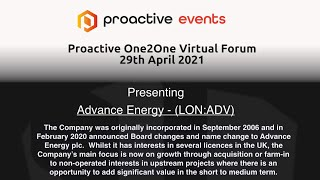 advance-energy-lon-adv-presenting-at-the-proactive-one2one-virtual-forum