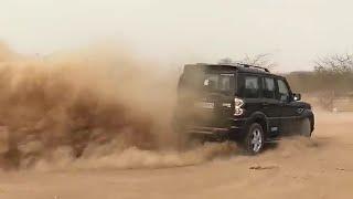 Desert car stunt Rajasthani hit car round stunt, WhatsApp Status - Rajasthan scorpio lovers