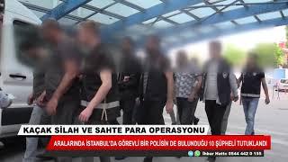 Konya'daki kaçak silah ve sahte para operasyonunda 10 tutuklama