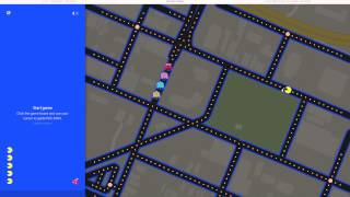 preview picture of video 'Google Maps Pac-Man Playing Utica, NY'
