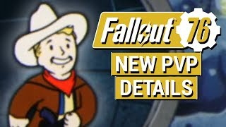 FALLOUT 76: New PVP DETAILS Revealed in Fallout 76!! (Bounties, Griefing, Revenge, and Rewards!)
