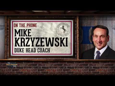 Duke HC Mike Krzyzewski Talks Zion, Parenting & More w/Dan Patrick | Full Interview | 1/10/19