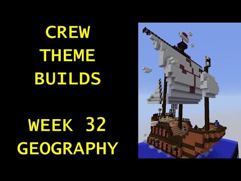 Minecraft - Your Theme Builds - Week 32 - Geography