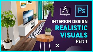 Interior Design With Photoshop - Perspective Patterns