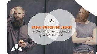 Куртка Vaude Windshell Zebru