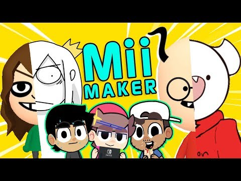 Turning YouTube Animators into Miis