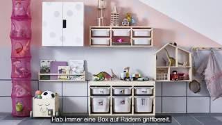 IKEA Organisationskunst: Spielzeugaufbewahrung