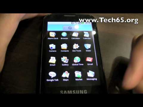 Samsung i7500 Android Smartphone Surfaces Again In Singapore Video