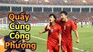 Thử Thách Bóng Đá DKP ăn mừng cùng Công Phượng Bùi Tiến Dũng Duy Mạnh và ĐT Việt Nam CK Malaysia