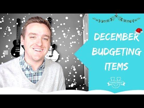Easily Forgotten December Budgeting Items!