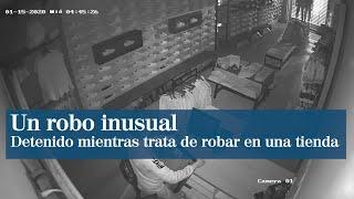 Detenido tras permanecer robando más de 30 minutos en una tienda de Castellón